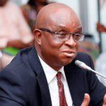 The Volta Regional minister, Dr. Archibald Letsa