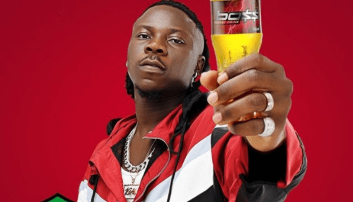 Stonebwoy now owner of Big Boss Energy Drink franchise