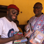 Hitz FM's Daybreak Hitz donates learning materials to Dome D/A Exp. Primary School