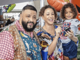 DJ Khaled and wife Nicole Tuck welcome second son