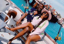 Simi and her husband Adekunle Gold