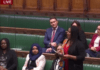 Labour Member of Parliament for Streatham, Bell Ribeiro-Addy addressing the House of Commons