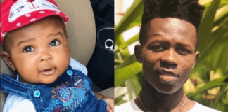 Strongman posts adorable photo of daughter