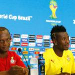 Kwesi Appiah and Asamoah Gyan