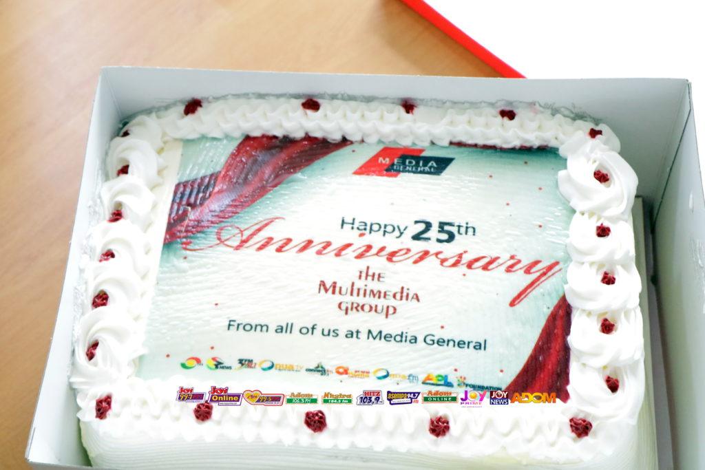 Photos: Media General congratulates Multimedia on Silver Jubilee