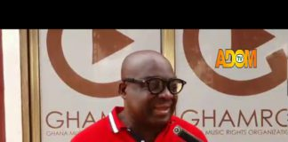 National Coordinator of Ghana Music Rights Organisation (GHAMRO), Mr Yaw Osborne