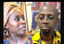 Rex Omar and Akosua Agyapong