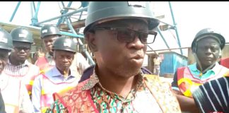 The Lands and Natural Resources Minister, Kweku Asumah Kyeremeh, after touring operational areas of the company expressed confidence in the current set up of the companies