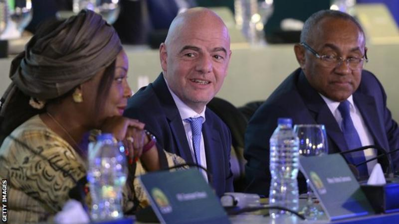 Fifa secretary general Fatma Samoura assisted the Confederation of African Football for six months until her tenure came to an end on 1 February 2020.