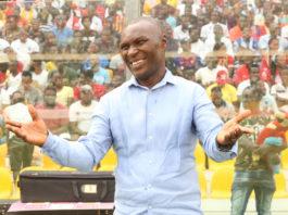 Head coach of Hearts of Oak, Edward Nii Odoom