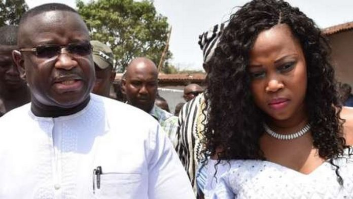 President Julius Maada Bio and Fatima Bio first married in 2013