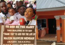 Nana Ama McBrown gifts orphanage canteen to celebrate daughter's first birthday