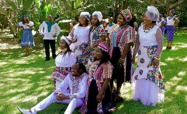 Photos: 50-year-old man marries 6 women in one ceremony