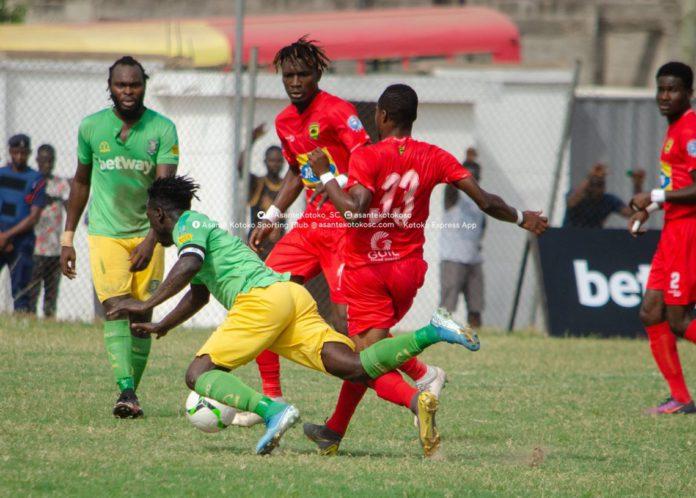 Aduana Stars v Asante Kotoko
