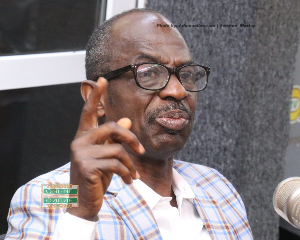 Johnson Asiedu Nketiah, popularly known as General Mosquito, General Secretary of the National Democratic Congress (NDC)