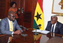 President Akuf0-Addo and GFA President, Kurt Okraku