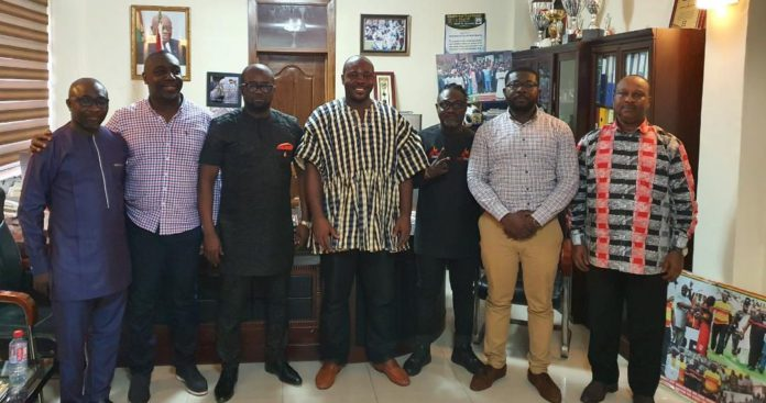 GFA and Sports Ministry officials