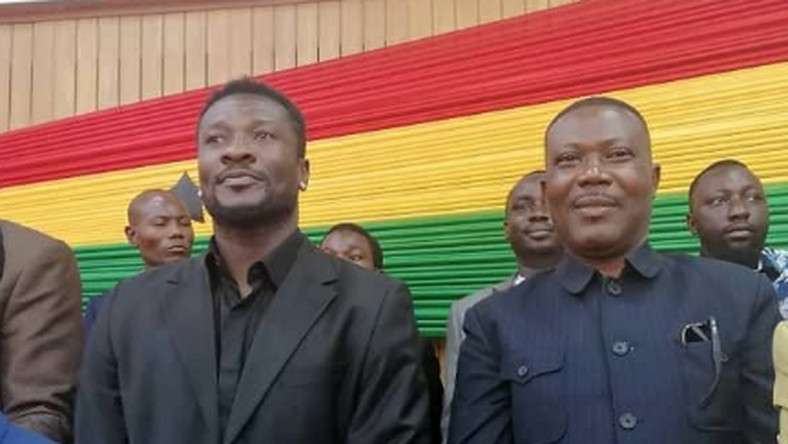 Asamoah Gyan opens up on becoming NPP MP for Weija-Gbawe