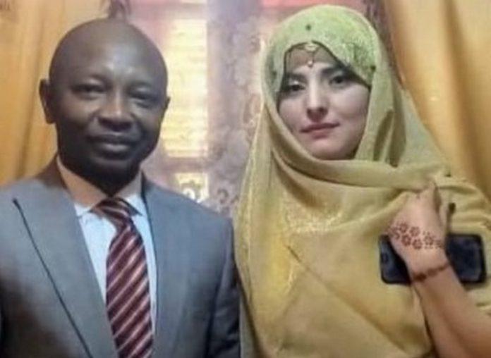 Ras Mubarak and second wife