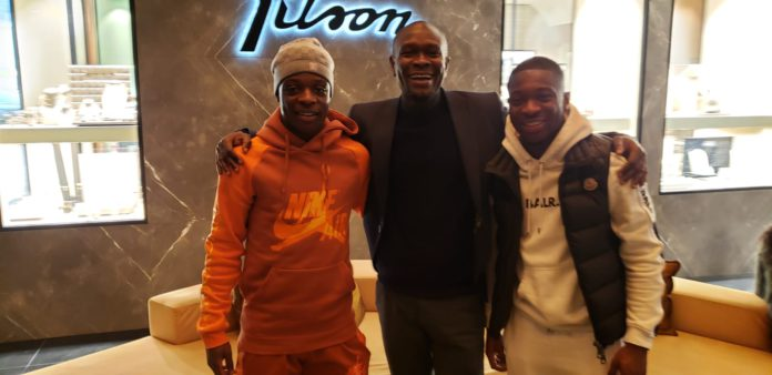 CK Akonnor with players