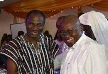 Prophet Badu Kobi and President Akufo-Addo