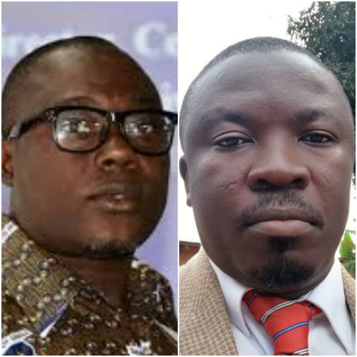 Gyampo and Butakor have been suspended by the University of Ghana