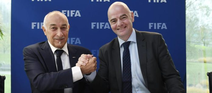 FIFPRO president and FIFA president