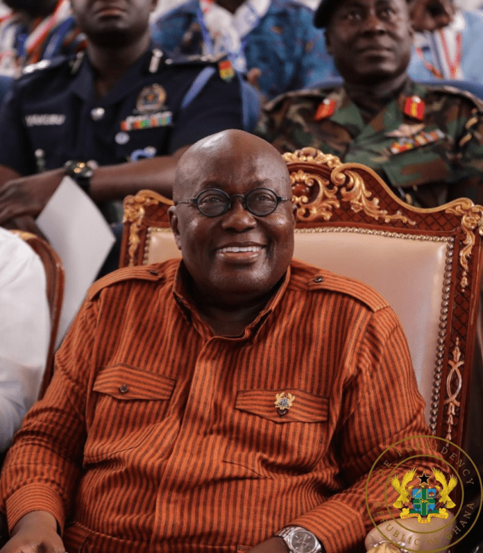 Akufo-Addo swears in first batch of ministers 4