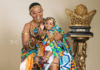 Nana Ama McBrown and daughter, Maxin Mawushi Mensah