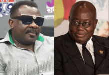 File Photo: L-R: Koo Fori and President Akufo-Addo