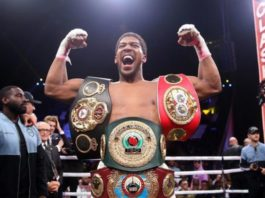 Anthony Joshua regained the WBA, IBF and WBO titles with victory over Andy Ruiz Jr. in Saudi Arabia in December