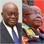 President Akufo-Addo and Speaker of Parliament, Prof. Aaron Mike Oquaye