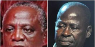 Nana Ampadu (left) and Amakye Dede (right)