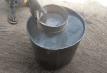 Nambagla treat water with ashes