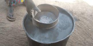 Nambagla treat water with ashes