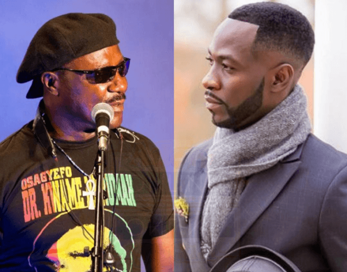 L-R: Gyedu-Blay Ambolley & Okyeame Kwame