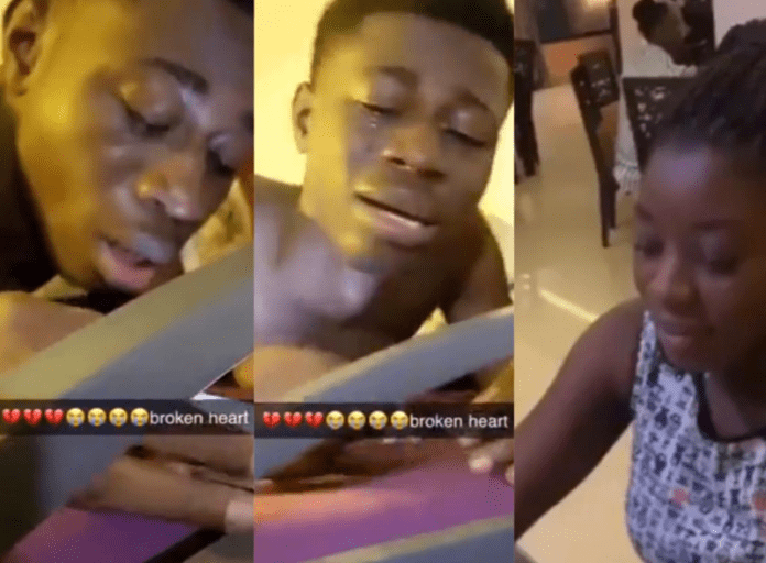 KNUST student trends on Twitter after heartbreak video goes viral