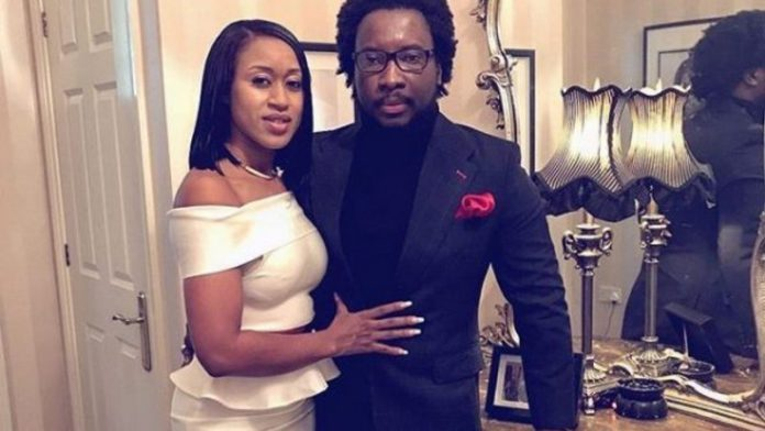 Sonnie Badu and wife