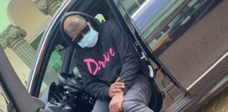 Rapper Medikal protects himself from coronavirus | Photo: @amgmedikal / Instagram