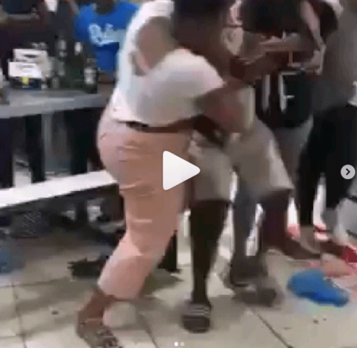 Wife whips husband for making love with side chick at