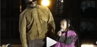 Kanye West's daughter gives surprise performance at Yeezy's Paris show
