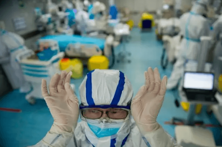 An intensive care unit treating coronavirus patients in a hospital in Wuhan, China, the virus's epicenter.Credit...Agence France-Presse — Getty Images