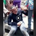 Nigeria explosion victim cries bitterly as he questions God