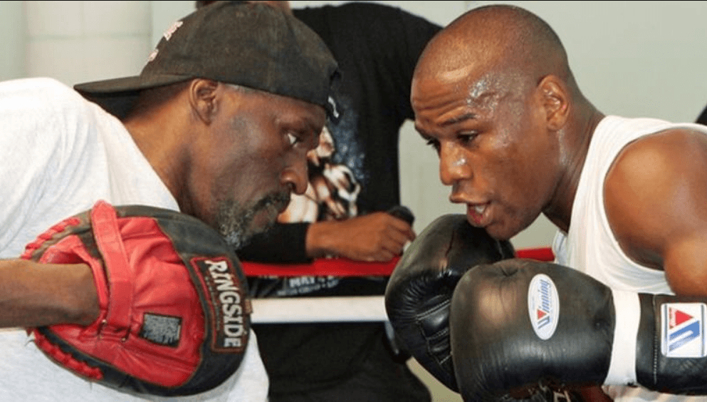Roger Mayweather (left) was nicknamed 'The Black Mamba' during his in-ring career