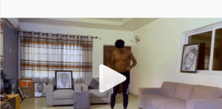 Kuami Eugene plays football in his living room amidst coronavirus 'house arrest'