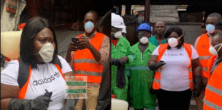 Ayawaso West MCE leads market fumigation exercise