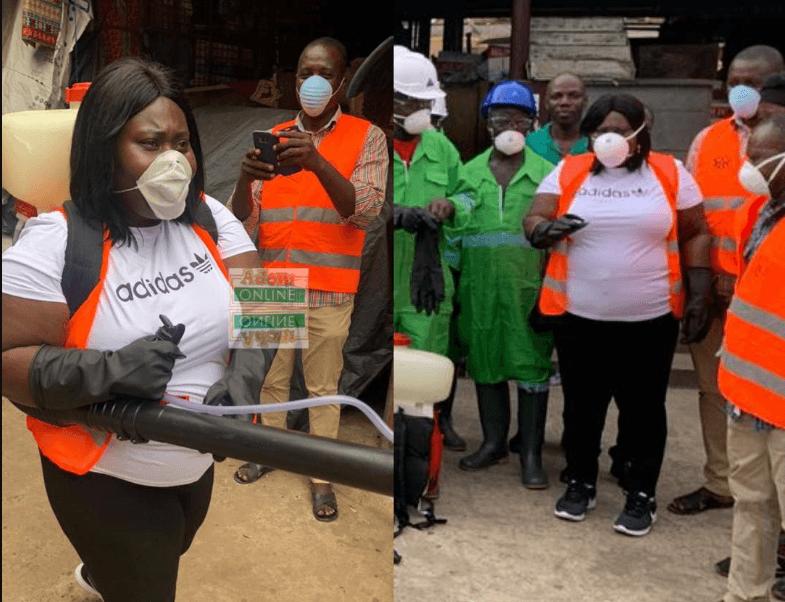Ayawaso West MCE leads market fumigation exercise