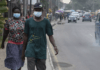 Nigeria was the first sub-Saharan country to report an official case of coronavirus, when an Italian working in the country came back from Milan on February 24 carrying the virus. © Pius Utomi Ekpei, AFP