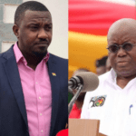 File Photo: L-R: John Dumelo and President Akufo-Addo