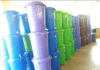 Veronica Buckets lined up in different colours